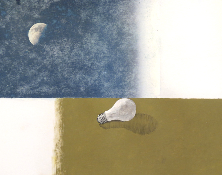 Untitled(Moon&Lightbulb)