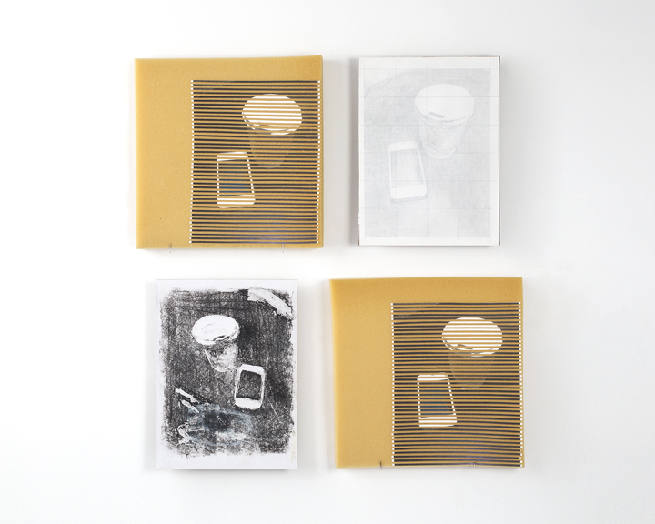 Untitled(StudiesofaTo-GoCup&CellPhone)